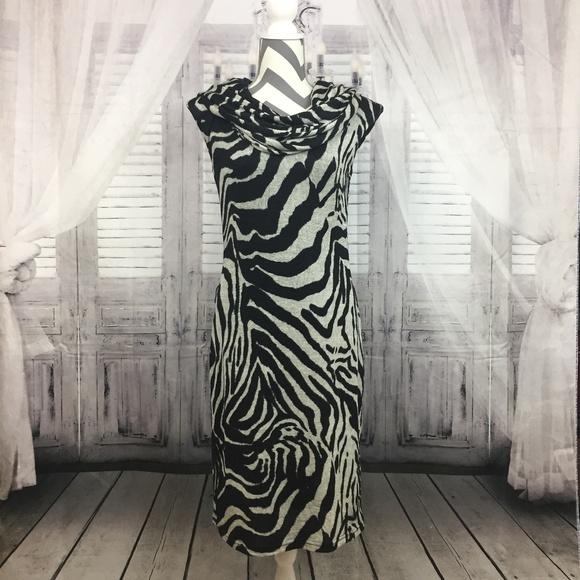 51eb41fc7289 Joseph Ribkoff Dresses   Sale Zebra Print Knit Dress Size8   Poshmark